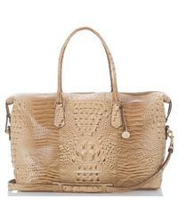 Brahmin - 'duxbury' Leather Travel Bag - Lyst