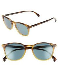 Oliver Peoples | Finley Esq. 51mm Sunglasses - Vbtg | Lyst