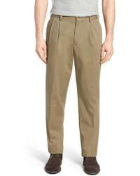 Bills Khakis - M2 Classic Fit Vintage Twill Pleated Pants - Lyst