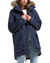 Volcom - Less Is More Women's Parka In Blue - Lyst