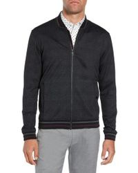 Ted Baker - Chicpea Jersey Bomber Jacket - Lyst