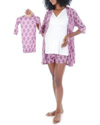 Everly Grey - 'daphne - During & After' 5-piece Maternity Sleepwear Set - Lyst