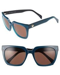 Draper James | 54mm Square Sunglasses | Lyst