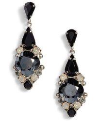Sorrelli - Alyssum Crystal Drop Earrings - Lyst