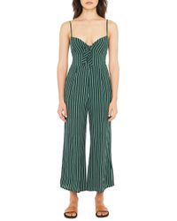 Faithfull The Brand - Presley Jumpsuit In Green - Lyst