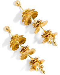 J.Crew | J.crew Bead & Blossom Earrings | Lyst
