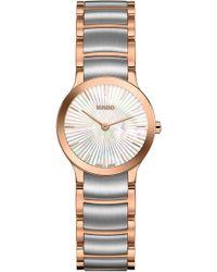 Rado - Centrix Sunburst Bracelet Watch - Lyst