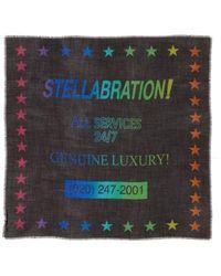 Stella McCartney - Stellabration Wool & Silk Scarf - Lyst