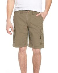 Tailor Vintage - Stretch Canvas Cargo Shorts - Lyst