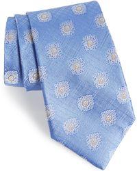 21d0617cb3c7 JZ Richards Floral Silk Tie in Brown for Men - Lyst