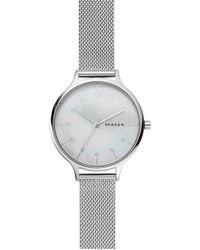 Skagen - Anita Mesh Strap Watch - Lyst