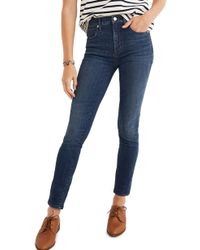 Madewell - Eco Collection High Rise Skinny Jeans - Lyst