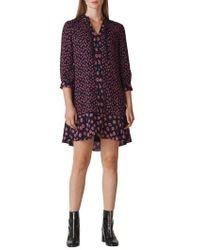 Whistles - Lenno Print Shirtdress - Lyst