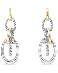 David Yurman - Pure Form Drop Earrings - Lyst