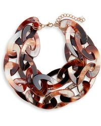 Nakamol - Chunk Resin Link Necklace - Lyst
