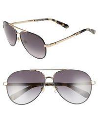 Kate Spade - Amaris 59mm Sunglasses - Lyst