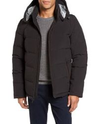 Vince Camuto - Convertible Down & Feather Puffer Jacket - Lyst
