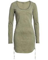 Pam & Gela | Scoop Neck Body-con Dress | Lyst