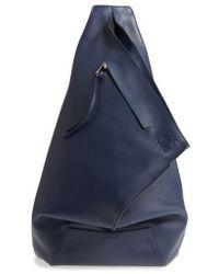 Loewe - Anton Leather Sling Pack - - Lyst
