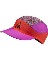 ef675a4d Nike Acg Aw84 Adjustable Hat (purple) in Purple for Men - Lyst