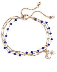 Treasure & Bond - Rosary Bead Layered Bracelet - Lyst