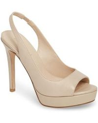 Pelle Moda - Oana Slingback Platform Sandal - Lyst