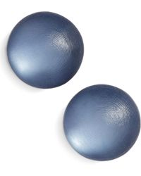 Alexis Bittar - Lucite Medium Dome Clip Earrings - Lyst