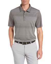 Cutter & Buck - Crescent Striped Polo - Lyst