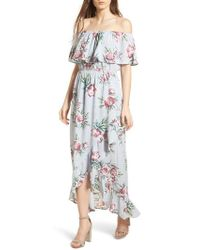 Mimi Chica | Off The Shoulder Maxi Dress | Lyst