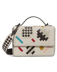 Bottega Veneta - Alumna Leather Crossbody Bag - - Lyst