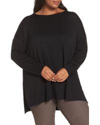 Eileen Fisher - Stretch Lyocell Knit Tunic - Lyst