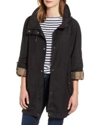 Gallery - Hooded Raincoat - Lyst