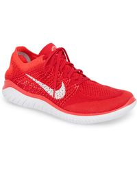 purchase cheap a05ec 57487 Nike - Free Rn Flyknit 2018 Running Shoe - Lyst