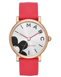 Marc Jacobs - Classic Silicone Strap Watch - Lyst