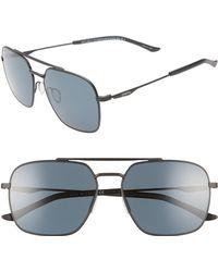 774cbfcb1c04c Smith - Double Down 58mm Chromapop(tm) Navigator Sunglasses - Lyst
