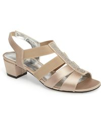 David Tate - Eve Embellished Sandal - Lyst