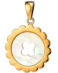 Asha - Quinn Mother-of-pearl Charm - Lyst