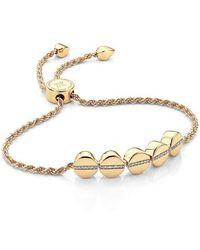 Monica Vinader - Engravable Diamond Beaded Friendship Bracelet - Lyst
