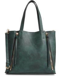 Chelsea28 - Leigh Convertible Zipper Faux Leather Tote - Lyst