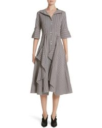 Palmer//Harding - Palmer//harding April Stripe Shirtdress - Lyst