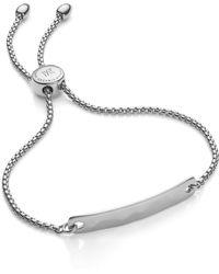 Monica Vinader - Engravable Havana Friendship Chain Bracelet (exclusive Collection) - Lyst