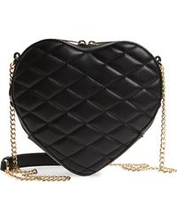 mali + lili - Mali + Lili Violet Quilted Heart Vegan Leather Crossbody Bag - - Lyst