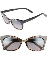 Maui Jim - Ilima 53mm Polarizedplus2 Cat Eye Sunglasses - Lyst