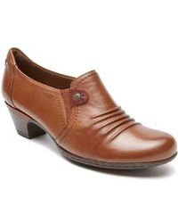 Cobb Hill - Ruched Leather Pumps - Lyst