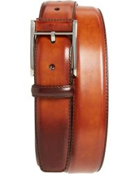 667084a5ae1ef8 Magnanni - Catalux Leather Belt - Lyst. Magnanni. Catalux Leather Belt.   150. Nordstrom · Saks Fifth Avenue - Men s ...