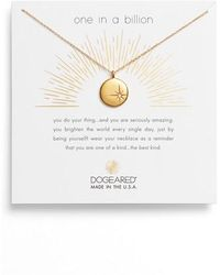Dogeared - One In A Million Pendant Necklace - Lyst