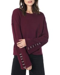 Joe's - Flare Sleeve Sweatshirt - Lyst