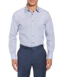 Nordstrom - Trim Fit Floral Dress Shirt - Lyst