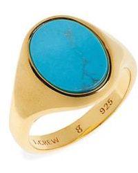 J.Crew - Demi-fine Turquoise Ring - Lyst