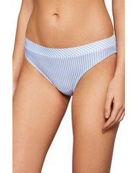 Ted Baker - Stripe Bikini Bottoms - Lyst
